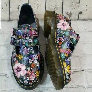 Dr Martens 8065 Wanderlust Floral Maryjane Shoes 6